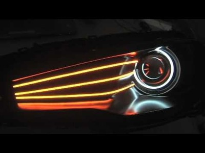 Mitsubishi Lancer Evolution concept headlights (DIY kit now available)
