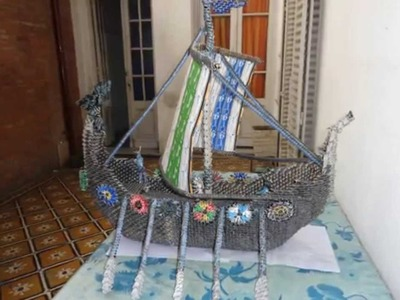 Origami 3D- Barco vikingo (parte 1)