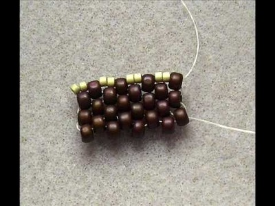 Peyote Even Count - Mixed Bead Sizes