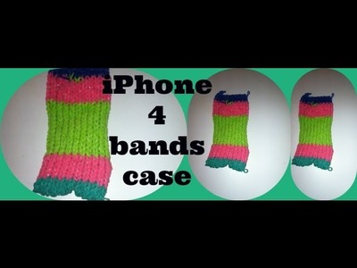 Rainbow Loom iPhone case - Talented Girl