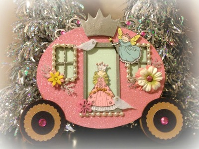SaCrafter's Princess Carriage Mini Album Part 4 of 4