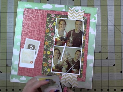Scrapbook Layout: It's Five O'Clock Somewhere, 12