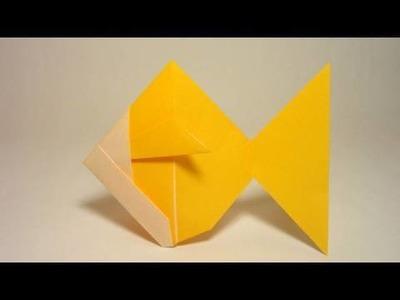 Simple Origami Goldfish