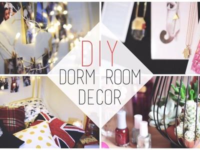 Transform Your Dorm | DIY Decorations + Organization Tips - chanelegance