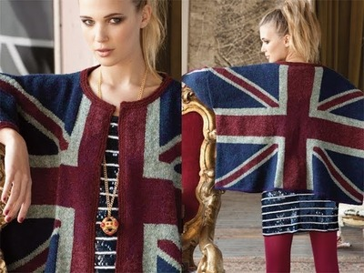 #2 Union Jack Cardigan, Vogue Knitting Fall 2010