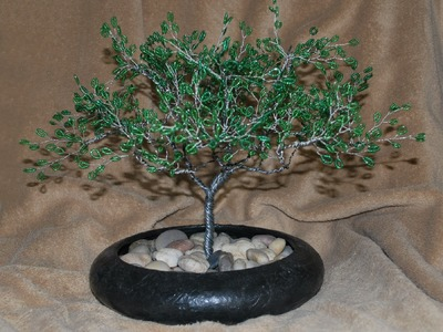 Beaded Wire Tree Demonstration