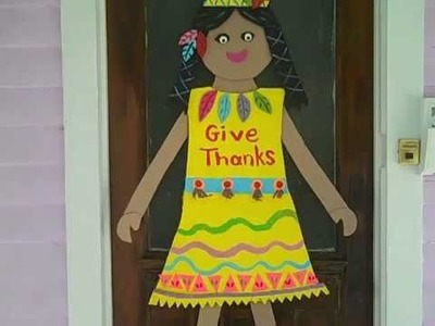 Cheap! Fun craft to do with the Kids for Thanksgiving