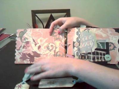 Chipboard Mini Album (scrapbooking)