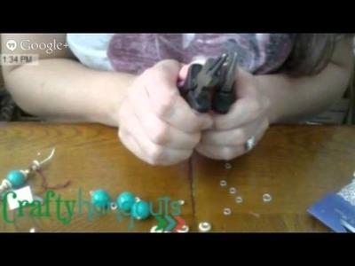 Crafty Hangouts: Craft Lightning Thrift Store Crafts