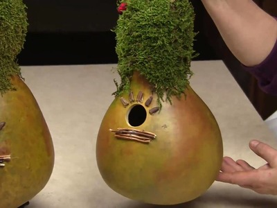 Creating A Gourd Birdhouse (Part 2) - Gourd Crafting Secrets Revealed