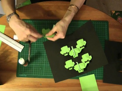 Creating a Origami Style Greeting Card