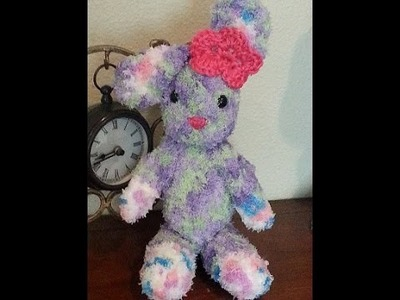Crochet amigurumi bunny rabbit DIY tutorial