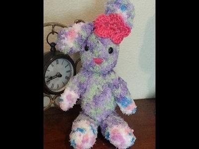 Crochet amigurumi bunny rabbit DIY tutorial