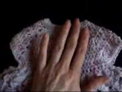 Crochet Baby Imagination Sweater Shell Stitch Part 4 of 4