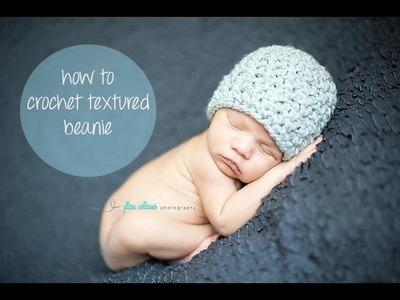 Crochet Beanie for ALL sizes!