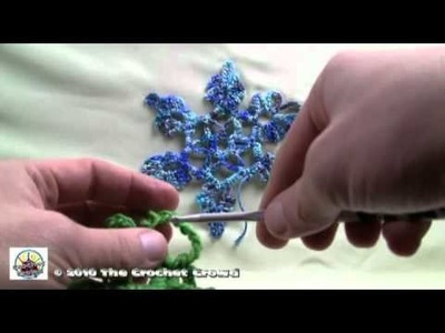 Crochet Snowcatcher Snowflake 01 - Part 1 of 2