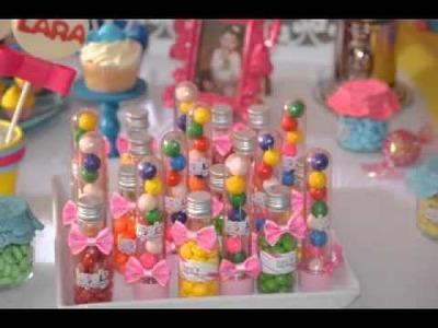 DIY Birthday party favor decorating ideas