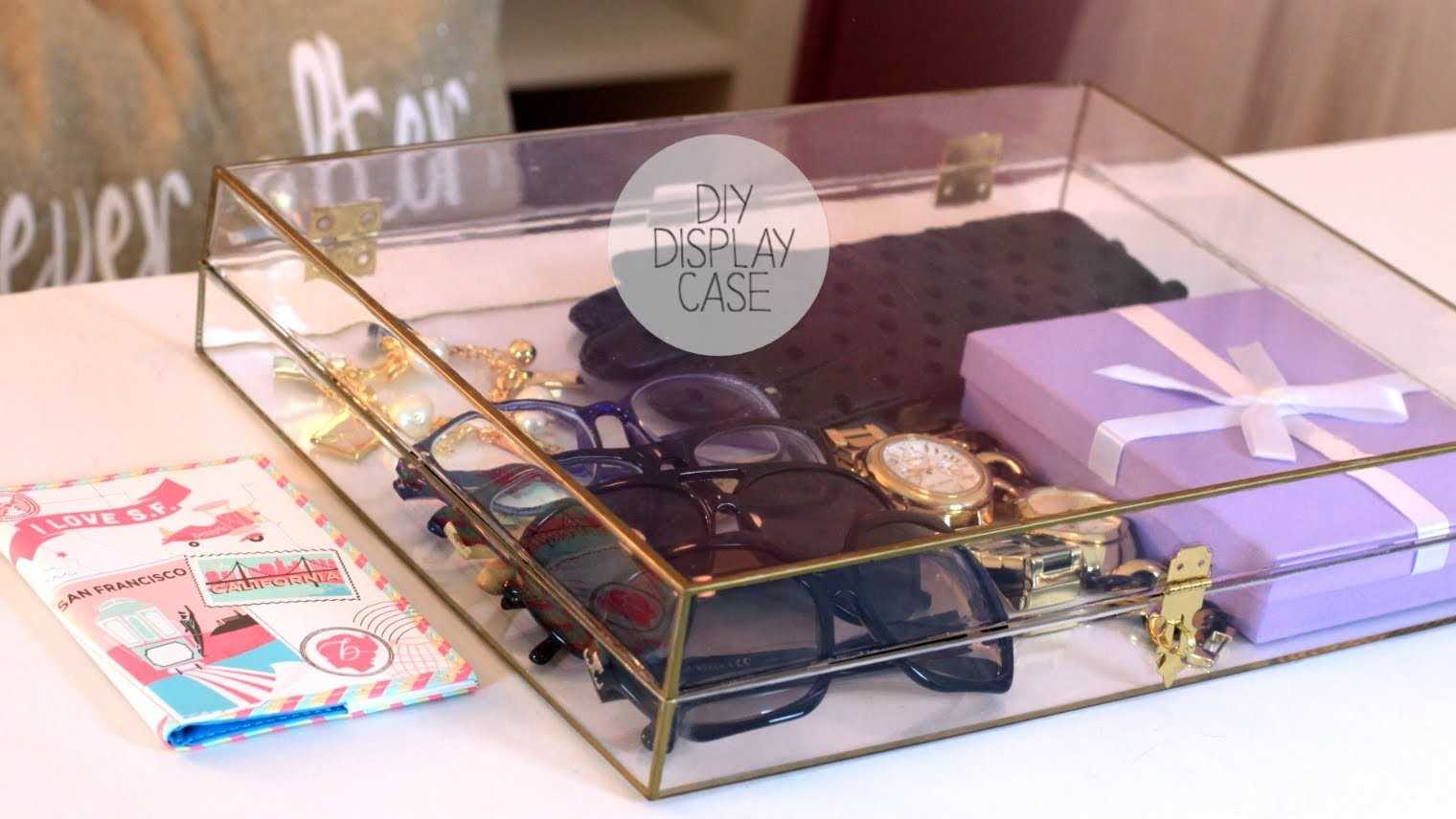 DIY Chic Display Case - Storage Decor