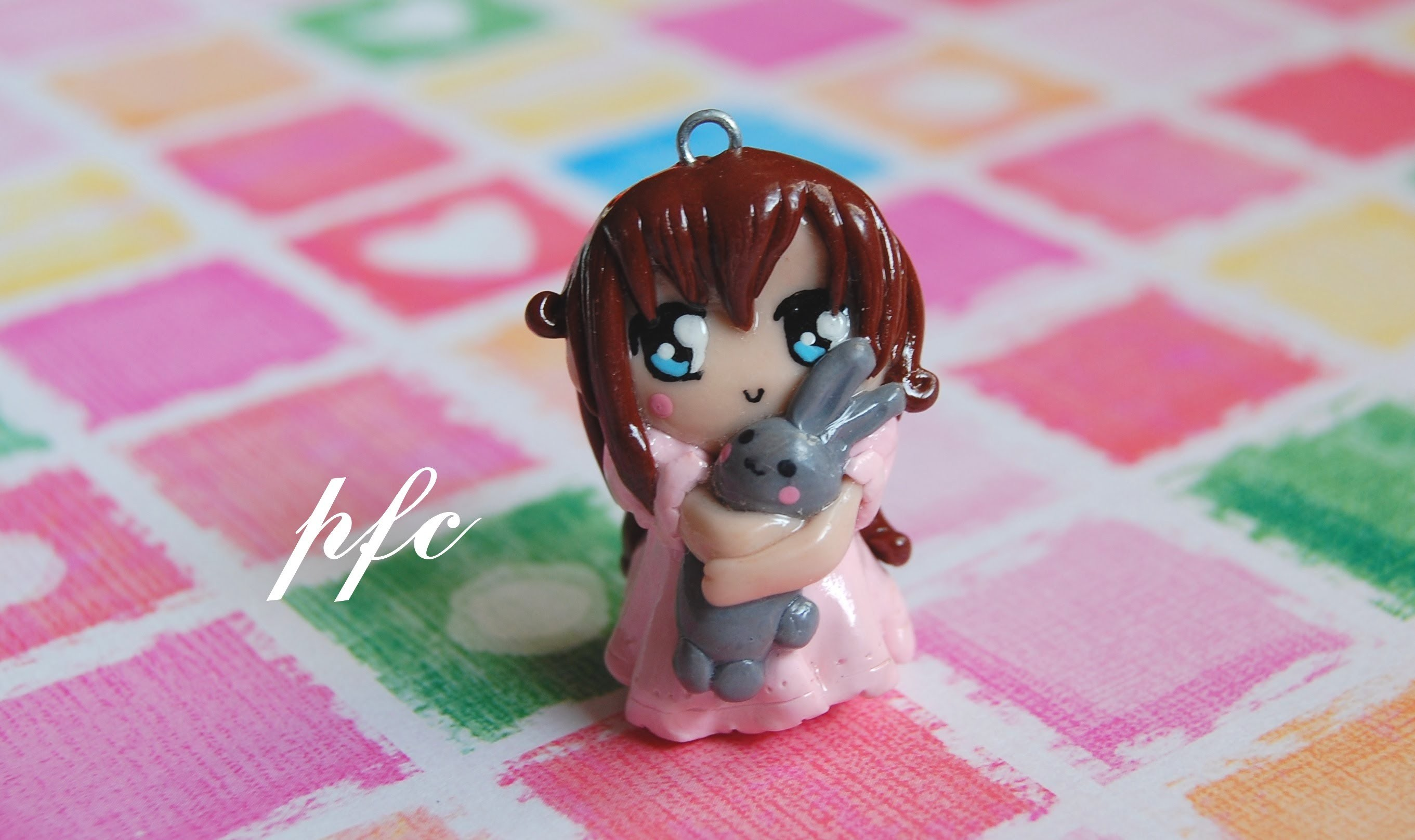 DIY Sweet Dreams Chibi Polymer Clay Charm Tutorial