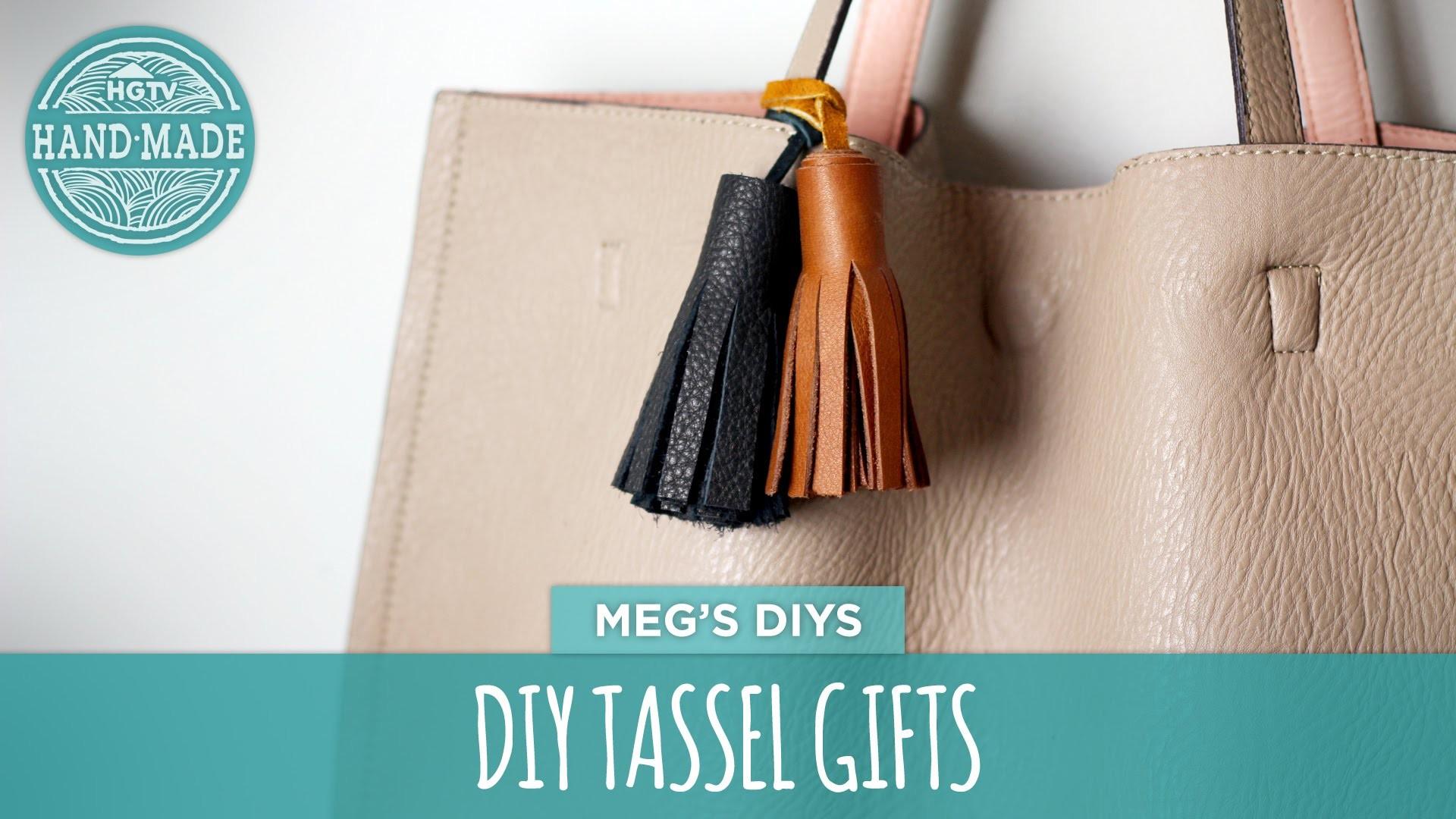 DIY Tassel Gifts- HGTV Handmade