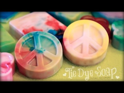 DIY Tie Dye Soap - Easy Soap Making How To for Beginners