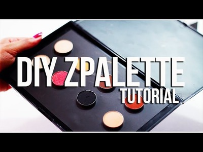 DIY: Z Palette Tutorial