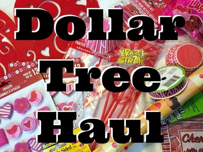 Dollar Store Crafts: Valentine's Day Dollar Tree Haul!