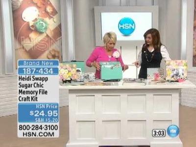 Heidi Swapp Sugar Chic Memory File Craft Kit