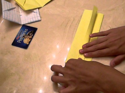 How 2 Make A Origami Paper Wallet :D