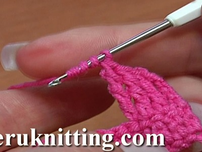 How to Double Treble or Double Triple Crochet Crochet Basics Tutorial 8