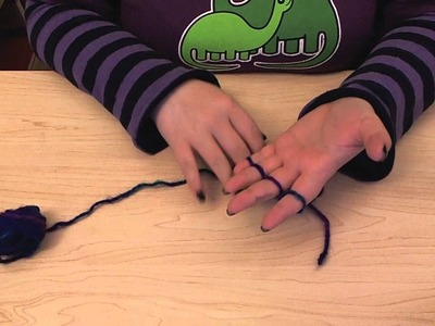 How to finger knit.