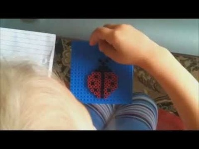 How-to make a ladybug from perler beads| tutorial-creativaty| Art Ideas For Preschoolers