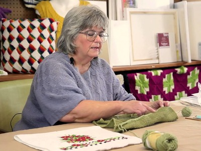 How to Make a Simple Crochet Border on Towels : Fun Crochet Projects