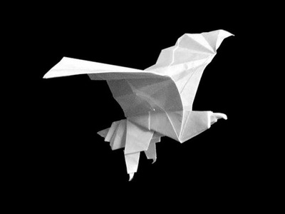 How to make: Origami Eagle