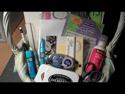"My ""Must Haves"" for new paper crafters!"