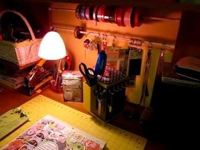 My scrapbook. craft space