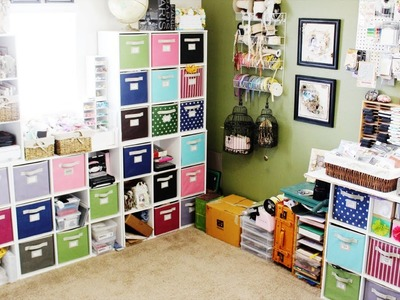 My Scrapbook Room Tour (2013)