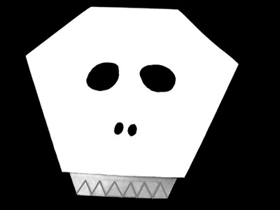 Origami Skull - How to make an Origami Skill