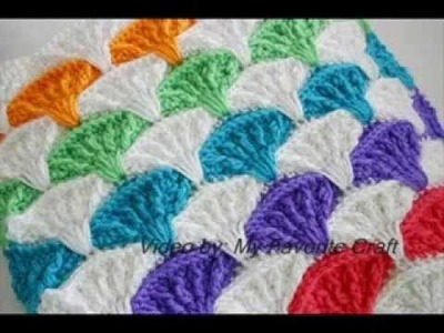 Paintbrush Pillow & Afghan - Crochet Afgan Pattern Presentation