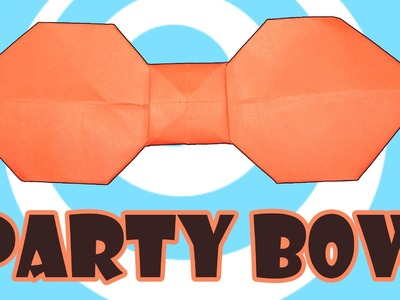 Party Origami Bow Instructions