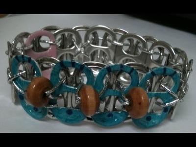 ❈Pop Tab Bracelet: Adding beads❈
