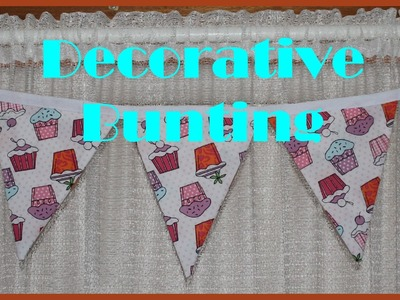 *Sewing DIY* Decorative Bunting
