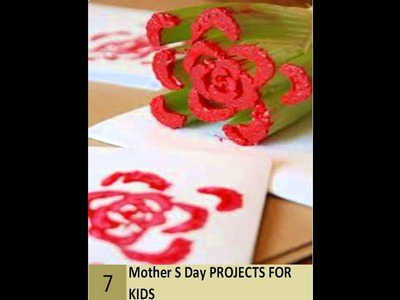 Simple Mothers Day Projects For Kids