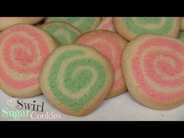 Swirl Sugar Cookies How To - Holiday DIY