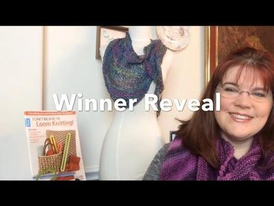 Winner Reveal I Can't Believe I'm Loom Knitting | Leisure Arts