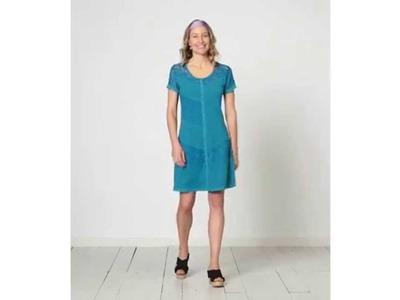 Women's Isabelle Stretch Lace Knit Dress | Sahalie