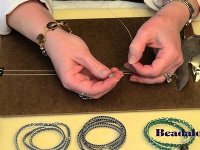 Wrap Bracelet using Beadalon Wire