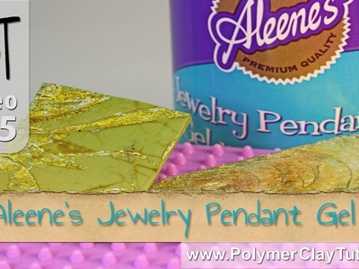 Aleene's Jewelry Pendant Gel on Polymer Clay