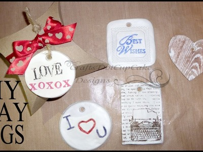 All Occasions Polymer Clay Tags - Tutorial