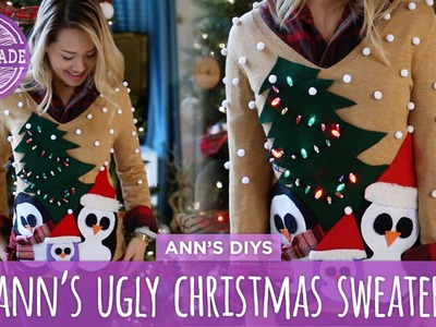 Ann's Ugly Christmas Sweater Challenge - HGTV Handmade